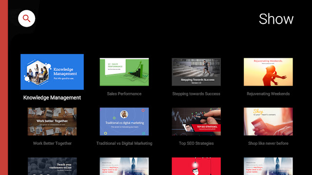 Screenshot Zoho Show for Android TV - Apcoid