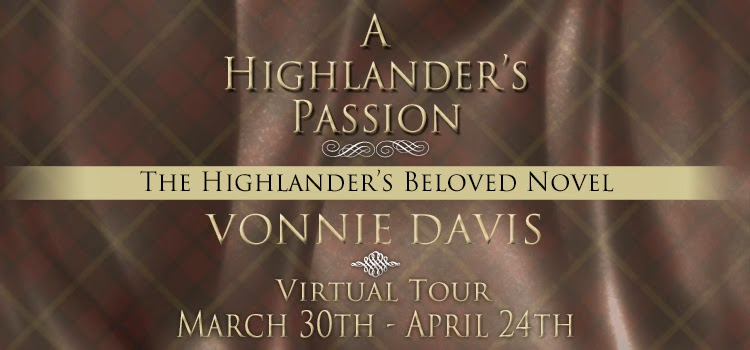 Scottish Historical Romance Tour Banner