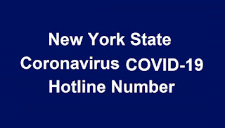 New York Health Department Coronavirus (COVID-19) Call Center Toll Free Number