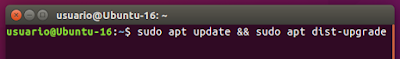 sudo apt update && sudo apt dist-upgrade