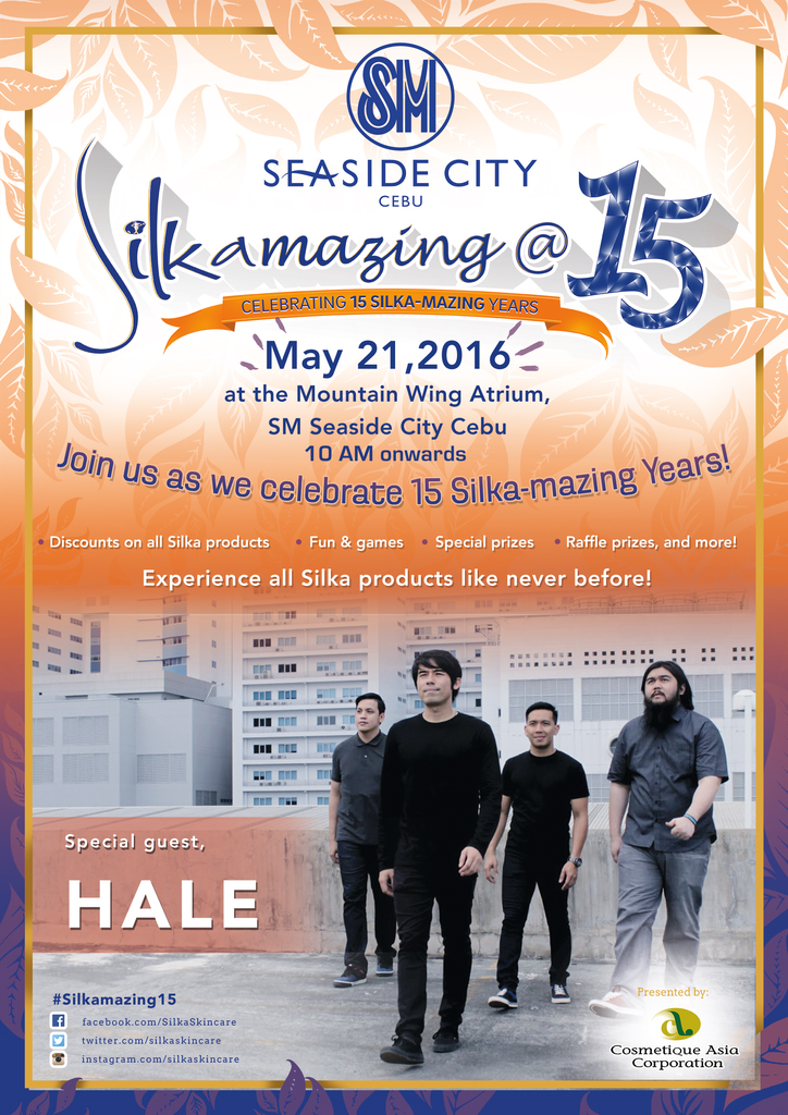 Silka at 15, Silka-mazing at 15, Campaigns, Cebu Events, Events, Seaside City Cebu, Cebu promotions,