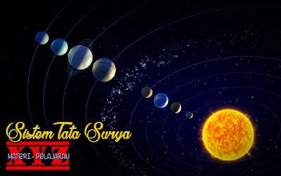 Tata Surya, Pengertian Tata Surya, Formasi Sistem Tata Surya, Matahari, Planet, Komet.