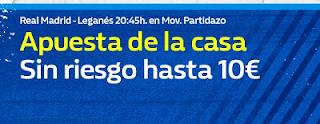 william hill promocion Real Madrid vs Leganes 1 septiembre