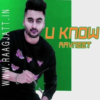 U Know by Ravneet lyrics