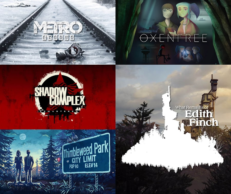 epic mega sale games summer 2019 metro exodus oxenfree shadow complex remastered thimbleweed park what remains of edith finch