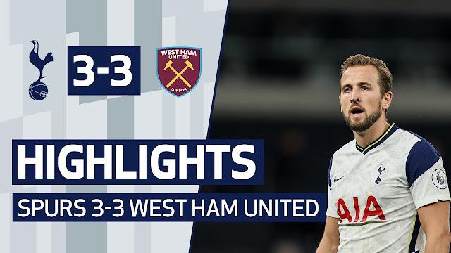 Highlights KQBD 7M Tottenham vs Westham 15 phút khó tin   Tottenham vuột mất chiến thắng