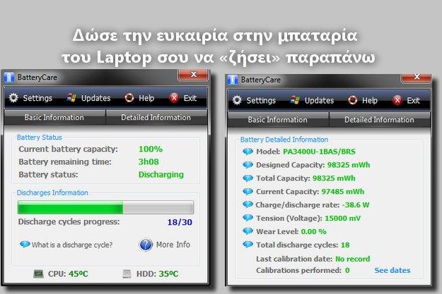 Δωρεάν πρόγραμμα για να φορτίζεις σωστά τον υπολογιστή σου