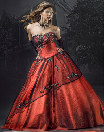 Black And Red Wedding Dresses Design Wedding Dress