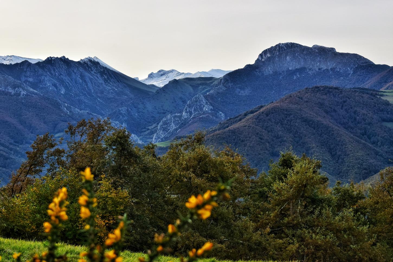 los valles de aller en otoño