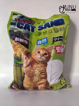 Merk Pasir Gumpal Kucing Happy Cat Sand