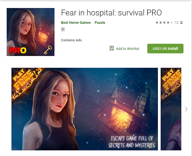 Fear in hospital: survival pro[Normally $1.08]