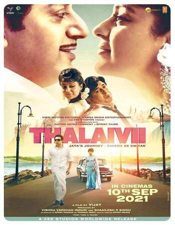 Thalaivi (2021) HDRip Hindi Movie Download - KatmovieHD