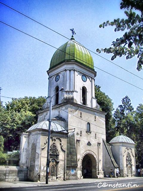 Turnul cu ceas de la Sf. Spiridon