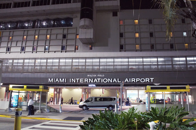 Accueil de l'aéroport international de Miami