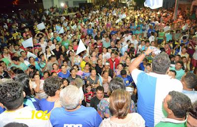Mega Arrastão e Reunião no Mutirão confirma liderança de Belezinha 10
