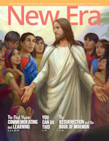 Cover of the April 2020 issue of the New Era magazine published by The Church of Jesus Christ of Latter-day Saints
