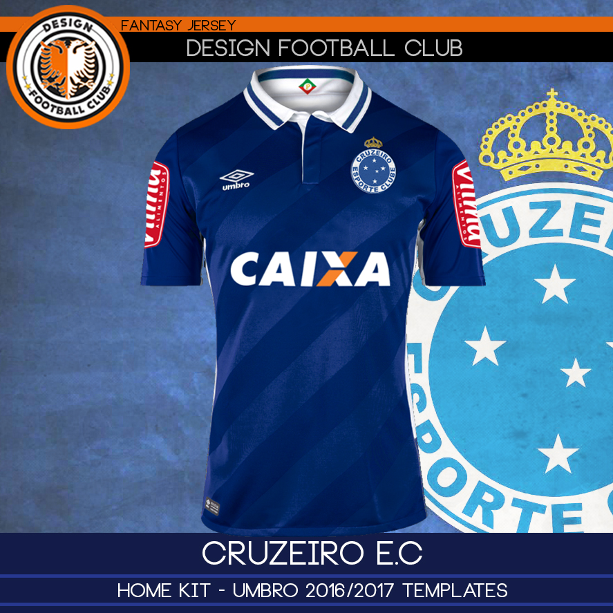 5b3343e11931c Design Football Club  Cruzeiro E.C - Umbro 2016 2017