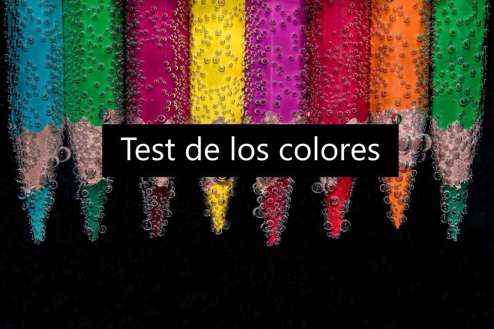 El test de los colores de Lüscher. Descargar
