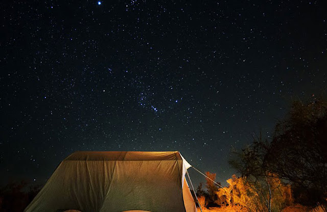 Starry night of Matin Abad Desert. Iran