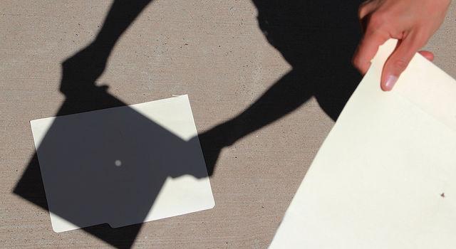 kaedah mencerap gerhana matahari