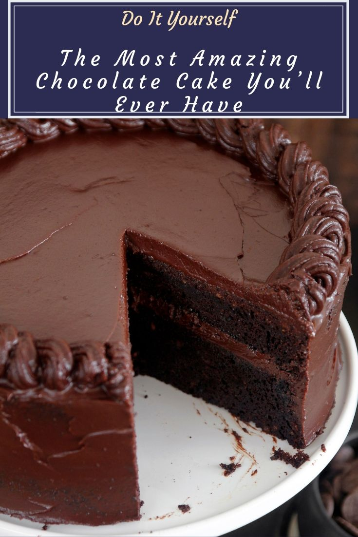 The Most Amazing Chocolate Cake You won't find a better chocolate cake recipe than this one. You will be amazed at how good it is, and you will amaze those…View Post