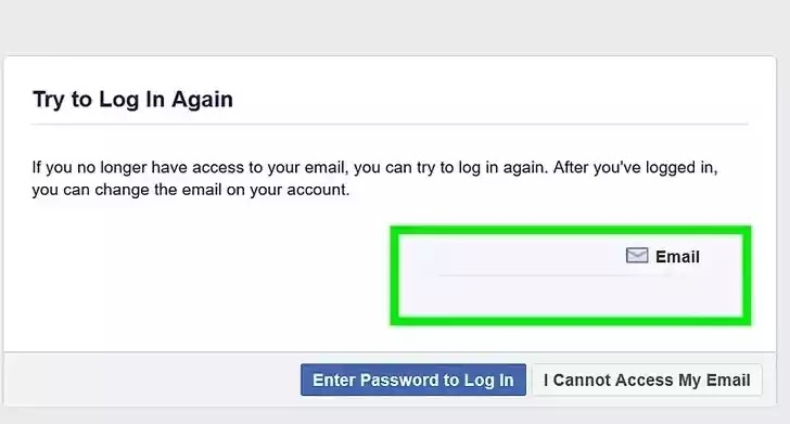 facebook Click no longer have access to these