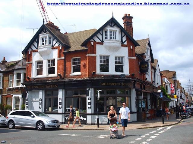 Restaurante en Greenwich