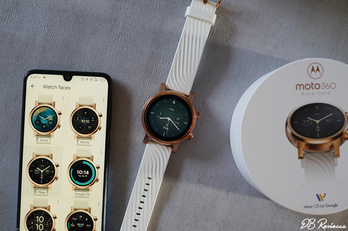 Changing the watch face of Moto 360