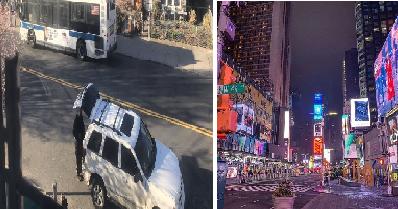 11 Momen suasana New York seperti kota hantu karena virus corona