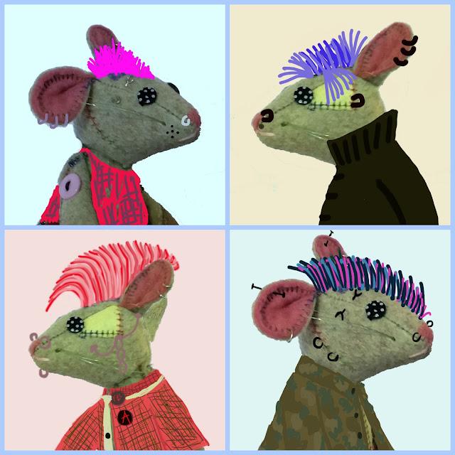 iroquoise - mohawh - punk style