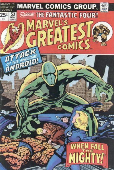 Marvels Greatest Comics Jack Kirby