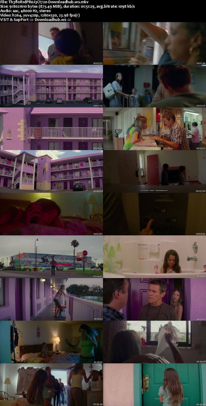 The Florida Project 2017 English 720p Web-DL 850MB ESubs