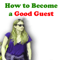 rules for being good guest