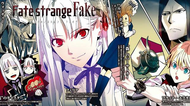 Fate/strange Fake (Novela Ligera en español)
