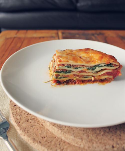 Meaty Meatless Mushroom Lasagna