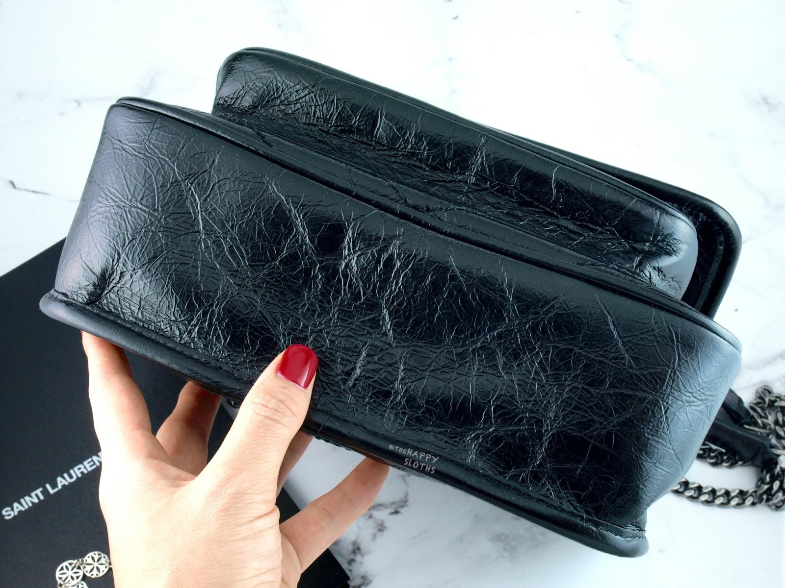 YSL Yves Saint Laurent | Niki Baby Bag in Vintage Leather: Review