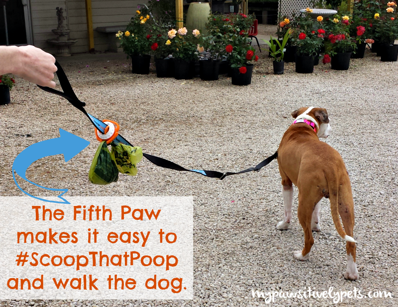 Fifth Paw makes it easy to #scoopthatpoop