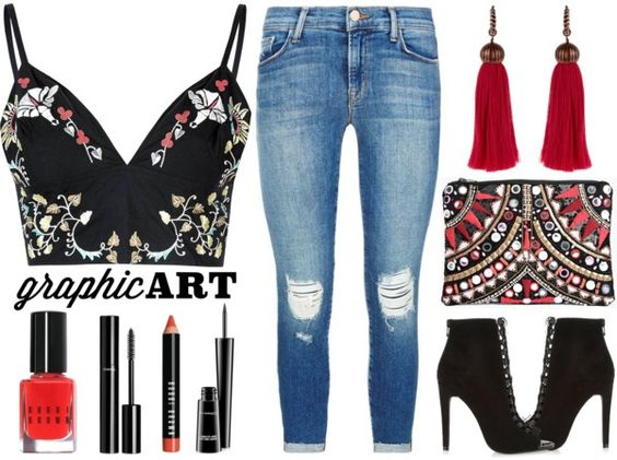 Street Style Chic - Florals And Embellishments www.toyastales.blogspot.com #ToyasTales