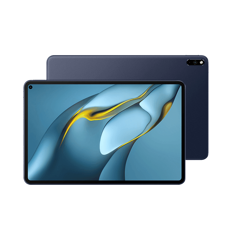 Back and front design of the tablet