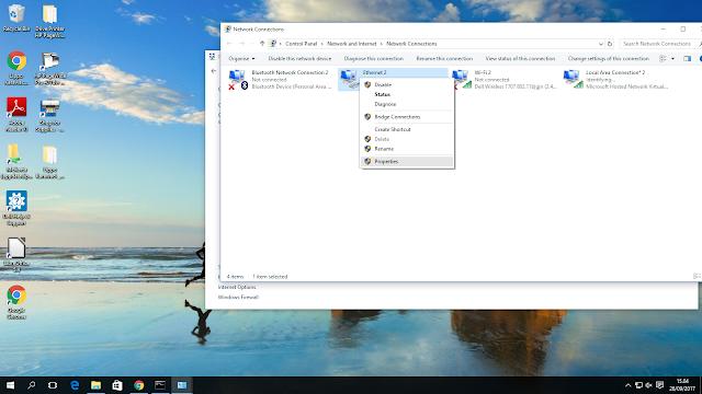 Cara Membuat Hotspot Di PC/Laptop Tanpa Aplikasi