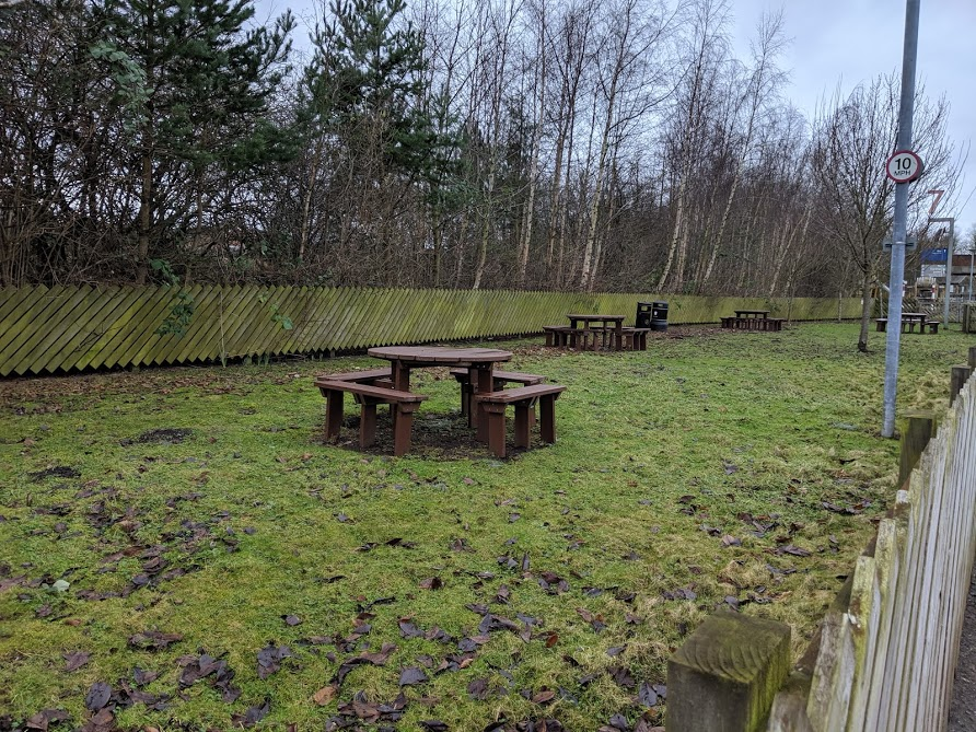 10 Reasons to Visit Locomotion Shildon  - outdoor picnic area