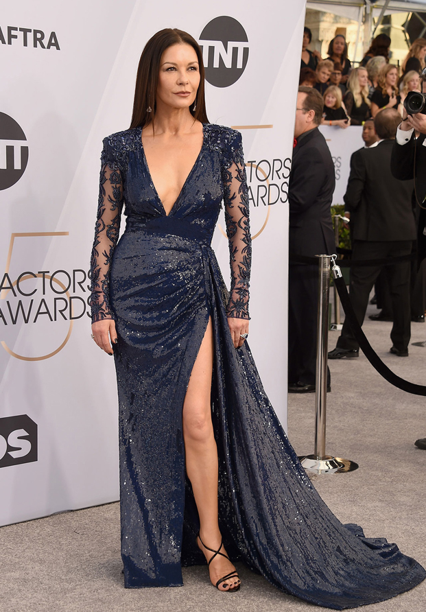 Catherine Zeta Jones Sag Awards 2019