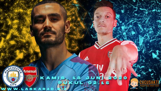 Prediksi Bola Manchester City vs Arsenal Kamis 18 Juni 2020