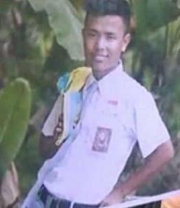 Thamrin pelajar SMA di Batubara yang tewas ditikam