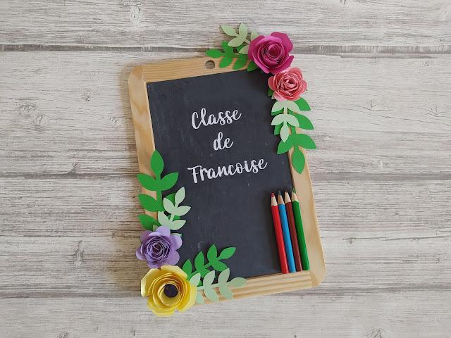 DIY Cadeau Maitresse : Un panneau de classe