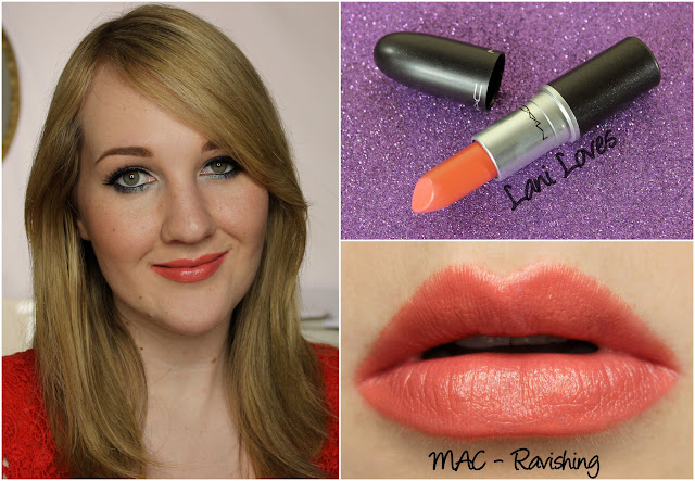 MAC Ravishing lipstick swatch