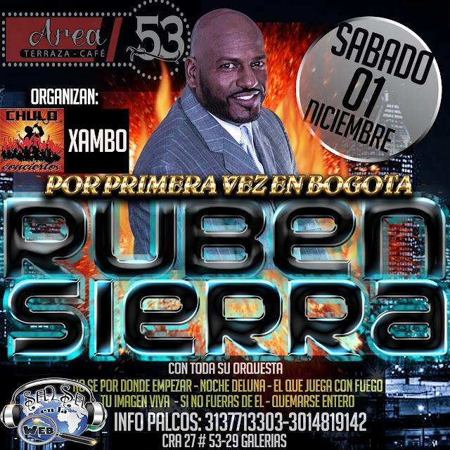► Ruben Sierra en Concierto