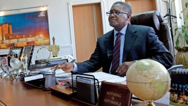 Dangote Invests N63bn In Transit Support Services, Buys 3,500 Trucks
