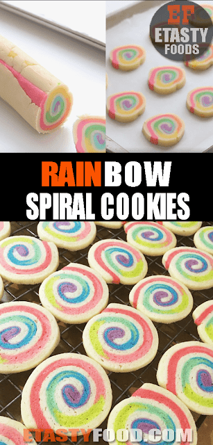 #RainbowSpiral #Cookies - Etastyfood