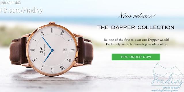 Bộ sưu tập Đồng hồ Daniel Wellington Dapper